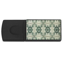 Jugendstil Rectangular Usb Flash Drive
