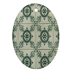 Jugendstil Oval Ornament (two Sides)
