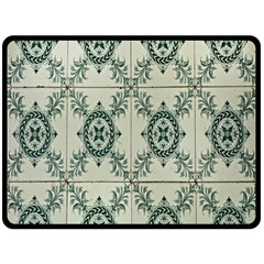 Jugendstil Double Sided Fleece Blanket (large)