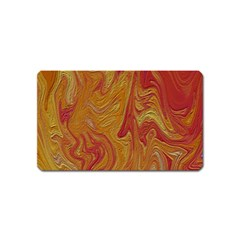Texture Pattern Abstract Art Magnet (name Card)