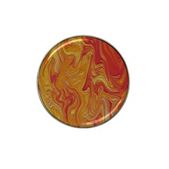 Texture Pattern Abstract Art Hat Clip Ball Marker