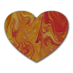 Texture Pattern Abstract Art Heart Mousepads