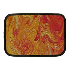 Texture Pattern Abstract Art Netbook Case (medium)