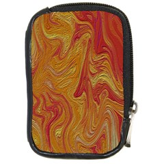 Texture Pattern Abstract Art Compact Camera Cases by Nexatart