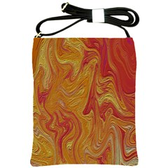 Texture Pattern Abstract Art Shoulder Sling Bags by Nexatart