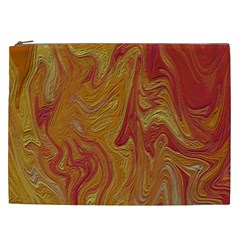 Texture Pattern Abstract Art Cosmetic Bag (xxl)