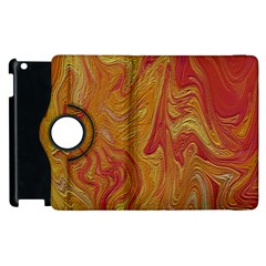 Texture Pattern Abstract Art Apple Ipad 2 Flip 360 Case
