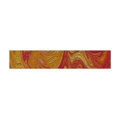 Texture Pattern Abstract Art Flano Scarf (mini)