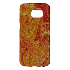 Texture Pattern Abstract Art Samsung Galaxy S7 Edge Hardshell Case