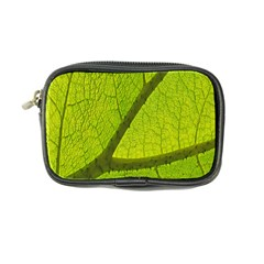 Green Leaf Plant Nature Structure Coin Purse by Nexatart