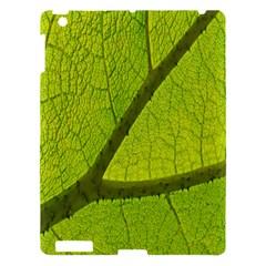 Green Leaf Plant Nature Structure Apple Ipad 3/4 Hardshell Case