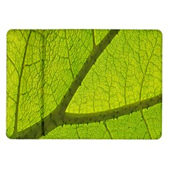 Green Leaf Plant Nature Structure Samsung Galaxy Tab 10 1  P7500 Flip Case