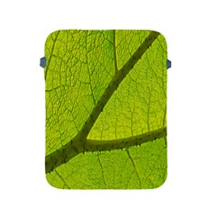 Green Leaf Plant Nature Structure Apple Ipad 2/3/4 Protective Soft Cases