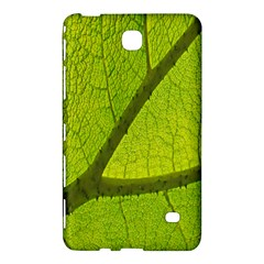 Green Leaf Plant Nature Structure Samsung Galaxy Tab 4 (7 ) Hardshell Case