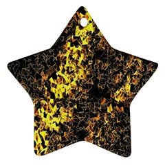 The Background Wallpaper Gold Ornament (star)