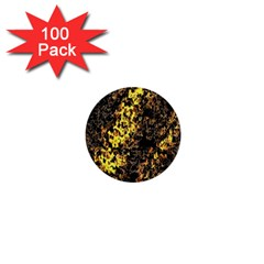 The Background Wallpaper Gold 1  Mini Buttons (100 Pack)