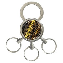 The Background Wallpaper Gold 3 Ring Key Chains