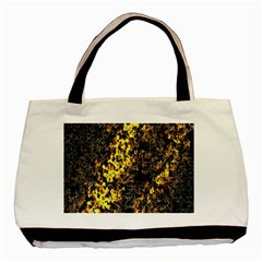 The Background Wallpaper Gold Basic Tote Bag (two Sides)