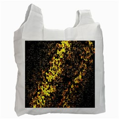 The Background Wallpaper Gold Recycle Bag (one Side)