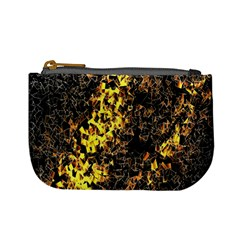 The Background Wallpaper Gold Mini Coin Purses