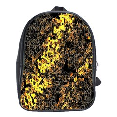 The Background Wallpaper Gold School Bag (large)