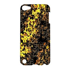 The Background Wallpaper Gold Apple Ipod Touch 5 Hardshell Case