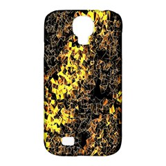 The Background Wallpaper Gold Samsung Galaxy S4 Classic Hardshell Case (pc+silicone)
