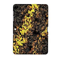 The Background Wallpaper Gold Samsung Galaxy Tab 2 (10 1 ) P5100 Hardshell Case