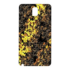 The Background Wallpaper Gold Samsung Galaxy Note 3 N9005 Hardshell Back Case