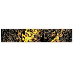 The Background Wallpaper Gold Large Flano Scarf