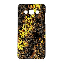 The Background Wallpaper Gold Samsung Galaxy A5 Hardshell Case