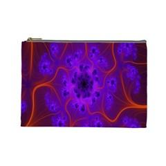 Fractal Mandelbrot Julia Lot Cosmetic Bag (large)