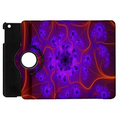 Fractal Mandelbrot Julia Lot Apple Ipad Mini Flip 360 Case by Nexatart