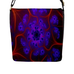 Fractal Mandelbrot Julia Lot Flap Messenger Bag (l)