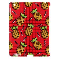 Fruit Pineapple Red Yellow Green Apple Ipad 3/4 Hardshell Case (compatible With Smart Cover) by Alisyart