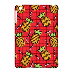 Fruit Pineapple Red Yellow Green Apple Ipad Mini Hardshell Case (compatible With Smart Cover) by Alisyart