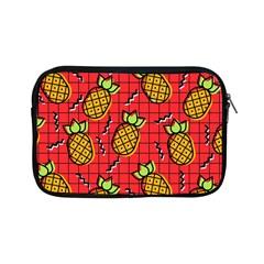 Fruit Pineapple Red Yellow Green Apple Ipad Mini Zipper Cases by Alisyart
