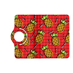Fruit Pineapple Red Yellow Green Kindle Fire Hd (2013) Flip 360 Case by Alisyart
