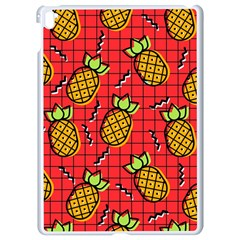 Fruit Pineapple Red Yellow Green Apple Ipad Pro 9 7   White Seamless Case by Alisyart