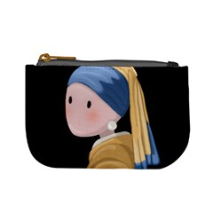 Girl With A Pearl Earring Mini Coin Purses by Valentinaart