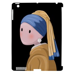 Girl With A Pearl Earring Apple Ipad 3/4 Hardshell Case (compatible With Smart Cover) by Valentinaart