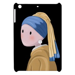 Girl With A Pearl Earring Apple Ipad Mini Hardshell Case by Valentinaart