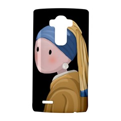 Girl With A Pearl Earring Lg G4 Hardshell Case by Valentinaart