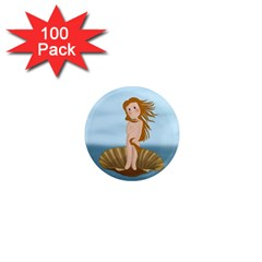 The Birth Of Venus 1  Mini Magnets (100 Pack)  by Valentinaart