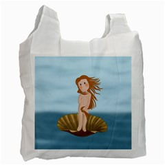 The Birth Of Venus Recycle Bag (two Side)