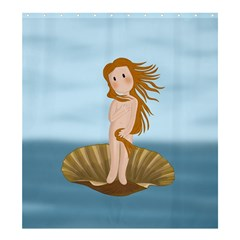 The Birth Of Venus Shower Curtain 66  X 72  (large)  by Valentinaart