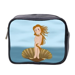 The Birth Of Venus Mini Toiletries Bag 2 Side by Valentinaart