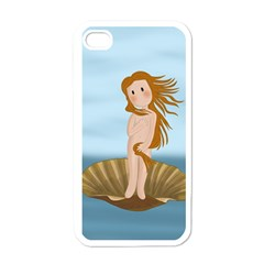 The Birth Of Venus Apple Iphone 4 Case (white) by Valentinaart