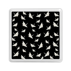 Paper Cranes Pattern Memory Card Reader (square)  by Valentinaart