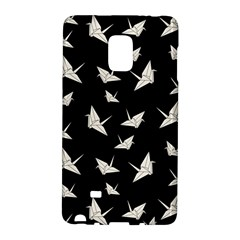 Paper Cranes Pattern Galaxy Note Edge by Valentinaart